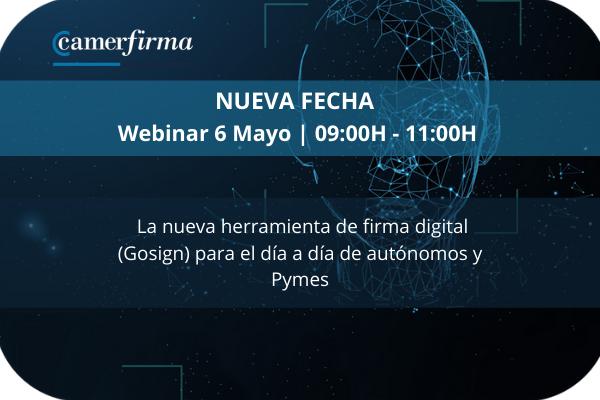 La nueva herramienta de firma digital (Gosign) para el día a día de autónomos y Pymes