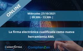 La firma electrónica cualificada como nueva herramienta AML [ONLINE]