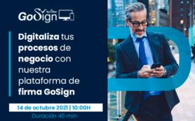 Digitaliza tus procesos de firma GoSign